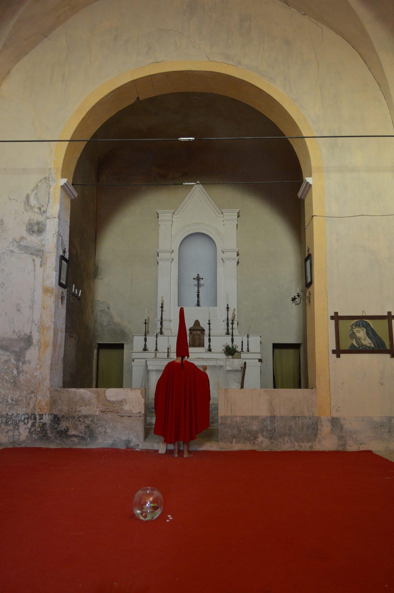 Spettacolo alla chiesa nell'ex-convento