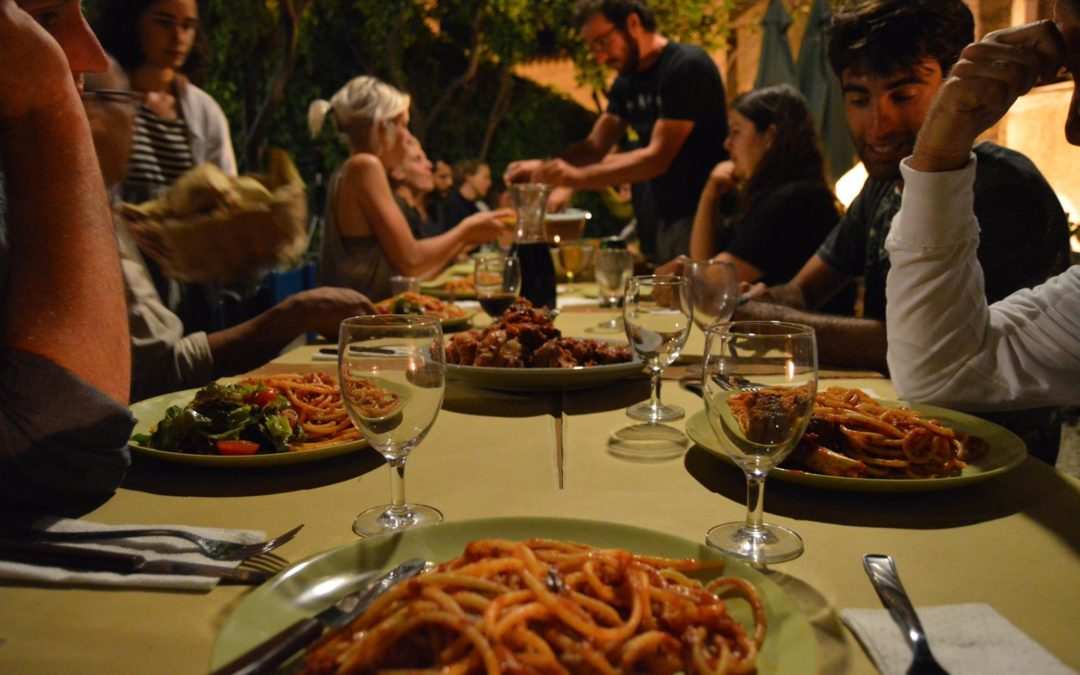 Cena in centro a Belmonte