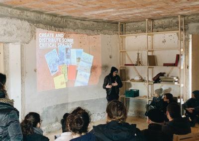 Presentazione di Collectif ETC alla casa