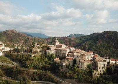 Immagine aerea di Belmonte Calabro