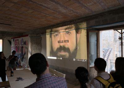 Presentazione del video creato