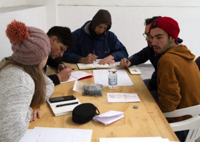 Lavoro collaborativo di sviluppo delle strutture