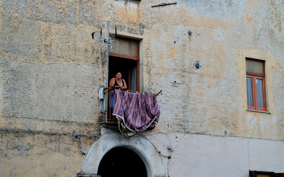 Scatto veloce in una strada a Venezia