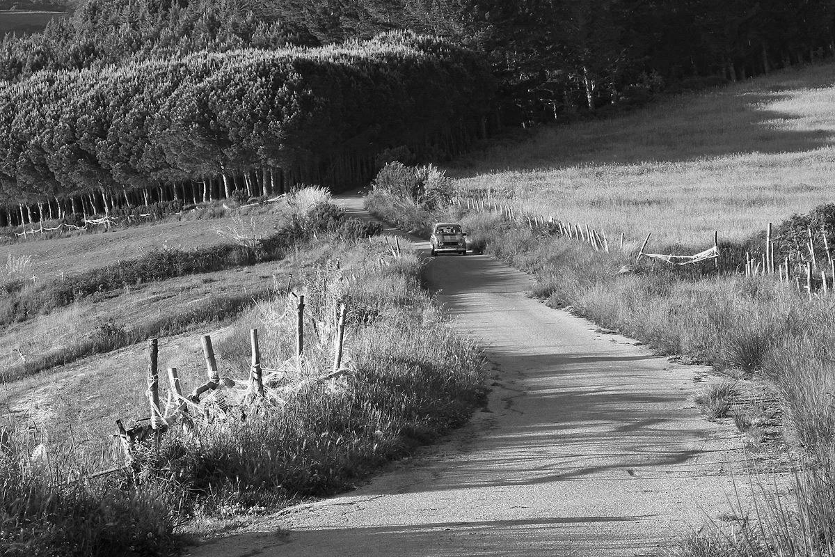 La strada a Belmonte